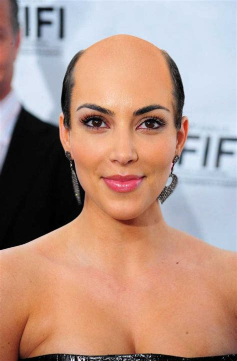 celebrities with big heads and short hair what if all female celebrities were bald 35 photos
