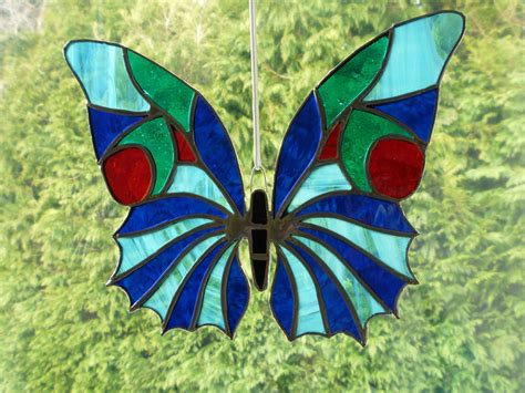 Stained Glass Butterfly L by Stained Glass Butterfly Comple By L1vethedream On Deviantart