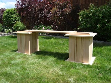 cedar planter box bench by teresa mellon lumberjocks