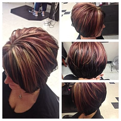 asymmetrical haircuts for women over 40 with fine har brown hair with highlights or lowlights 2015 pixie cut