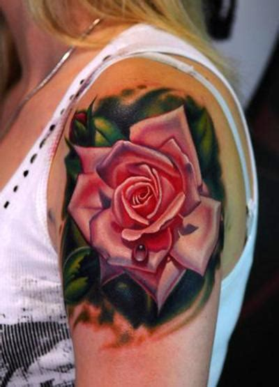 pink rose tattoos tattoos are bloomin 171 articles