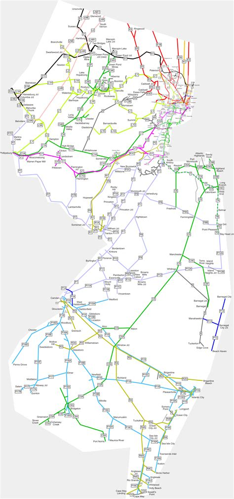 nj path map new jersey path map track system new free engine image for user manual
