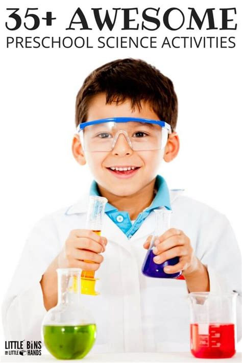 science themes in kindergarten science experiments and stem activities for kids