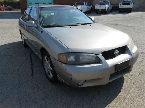 2002 nissan sentra se r for sale sell used 2002 nissan sentra se r auction no