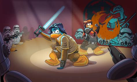 club penguin star wars rebels takeover behind the scenes sneak club penguin star wars rebels takeover going on now
