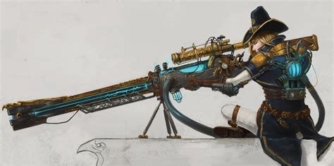 design doll weapons the order 1886 contest entry rail gun by devmarine