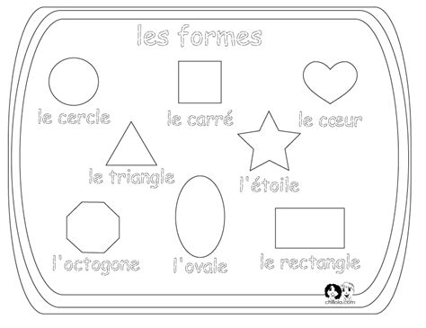 printable shapes in spanish 19 best images of pinterest spanish worksheets shapes