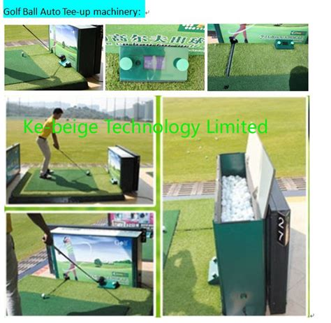 Golf Auto Tee Up Machine by China Automatic Golf Ball Teeing System Golf Ball Auto Tee