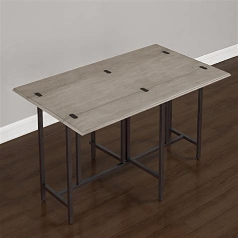 convertible dining table wood contemporary expandable home