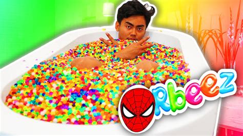 Juicer 5 In 1 orbeez bath challenge