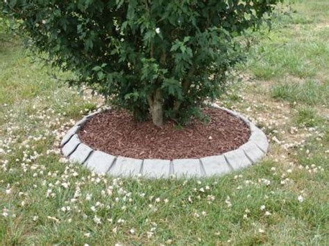 Landscape Edging Around Trees Lawn Edging For Tree Rings Landscape Edging