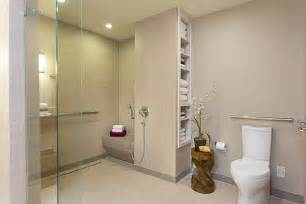 Handicap Accessible Bathroom Designs Baby Boomer Wheelchair Accessible Bathroom In