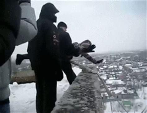 russian rope swing irti funny gif 3121 tags russian bungie jump rope swing