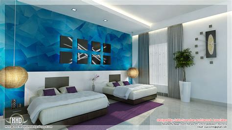 design patterns for bedroom interiors beautiful bedroom interior designs kerala house design