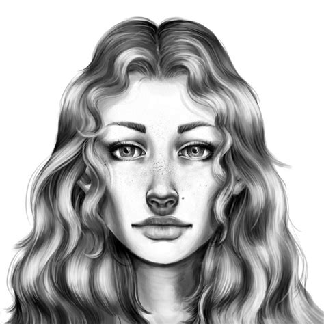 Drawing Realistic Faces by How To Draw A Realistic By Catherinelennon On Deviantart