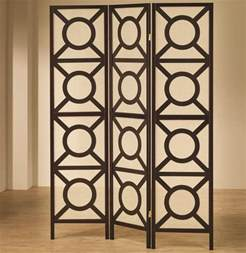 Folding Screen Room Divider Chicago Furniture Circle Pattern Folding Screen