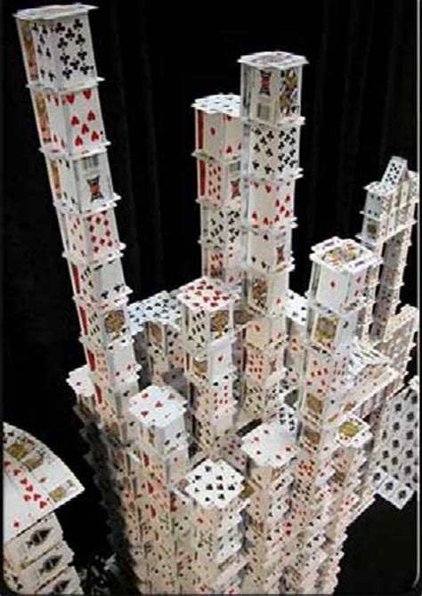 how to make house of cards world s tallest cardhouse it s amazing pix o plenty