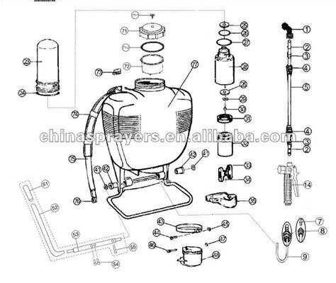Pressure Sprayer Alat Semprot Air Otomatis Alat Siram Tanaman knapsack sprayer 4 gallon for agricultural and garden
