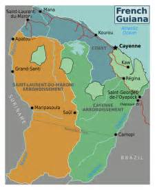 map of guiana south america giana south america pictures to pin on pinsdaddy