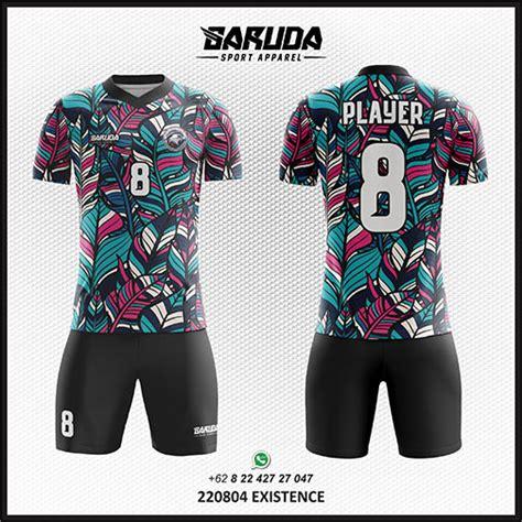 desain jersey paling unik desain baju futsal code 08 garuda print garuda print