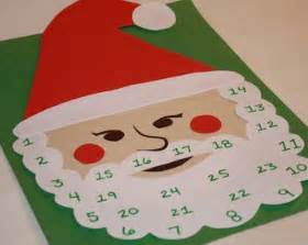 christmas countdown on santa s beard activity