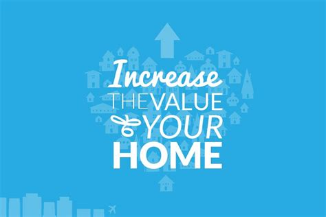increase the value of your home infographic visualistan