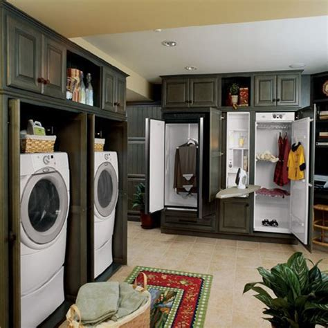 Laundry In Closet by Walk In Closet Laundry Room Combo Search For