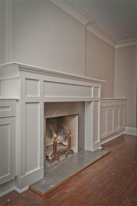 Craftsman Fireplace Mantel by Forest Hill Mantle With Storage Craftsman Family
