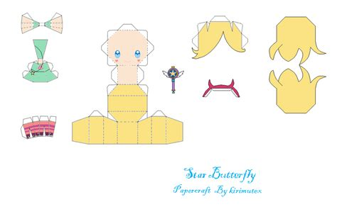 Butterfly Papercraft - butterfly papercraft by kirimutex on deviantart
