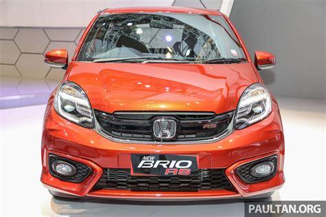honda brio indonesia honda brio rs front launched in indonesia indian autos blog