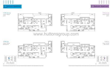 floor plan la 5 bedroom la fiesta at sengkang