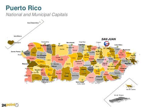 zip code map puerto rico powerpoint map of puerto rico