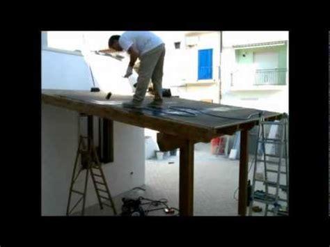 come fare una tettoia in ferro tettoia in costruzione