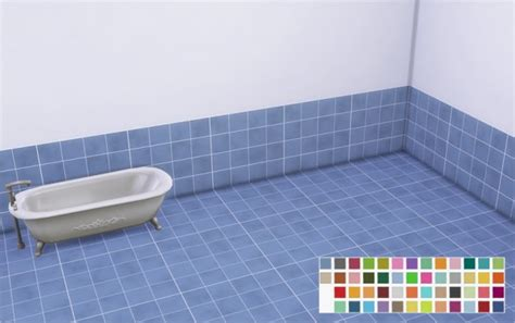 Veranka bubble tiles bathroom walls amp floors sims 4 downloads