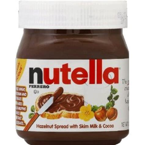 printable nutella label i just had nutella for the first time