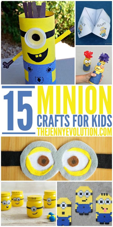 minion crafts for 70 minion projects to make