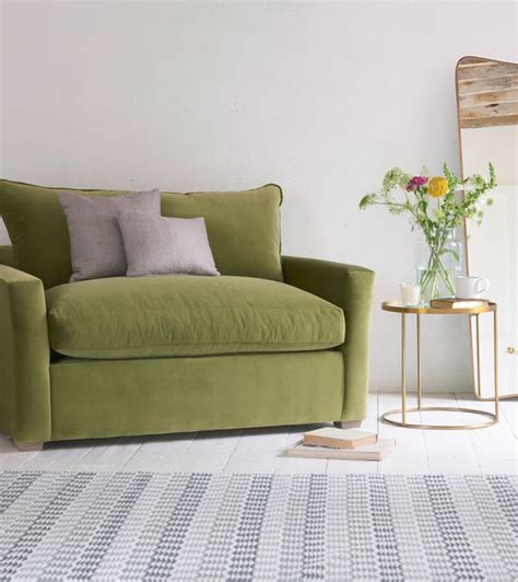 Olive Green Velvet Sofa by 1000 Ideas About Olive Green Couches On