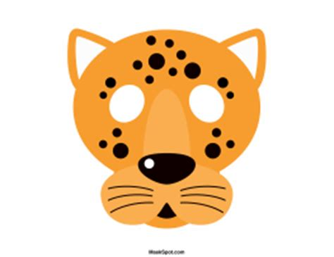 how to make a jaguar mask printable jaguar mask