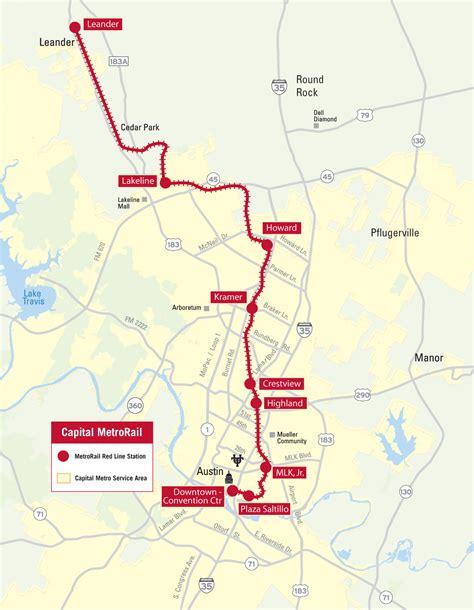 metrorail map capital metro rail map