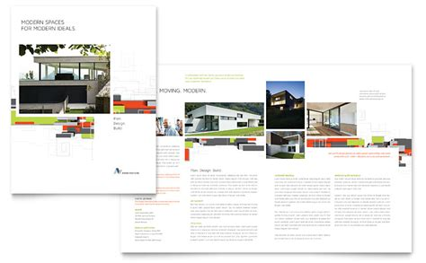 old age home design concepts architectural design brochure template word publisher