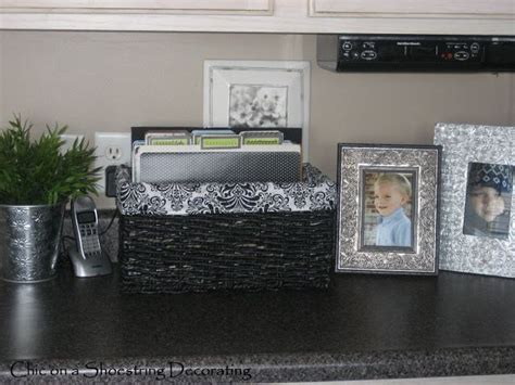 organize kitchen counter organizing kitchen counter paper clutter for the home