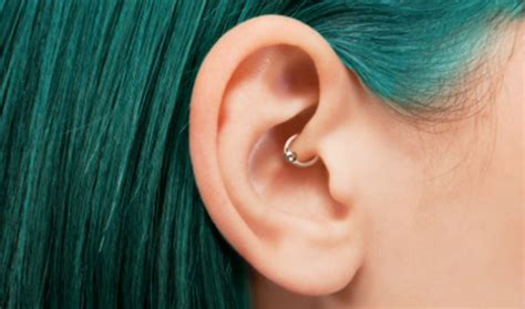 different types of ear piercings unique ear piercing types