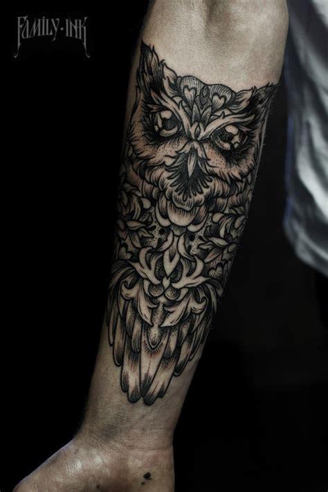 owl forearm tattoo 47 best owl tattoos of all time tattooblend