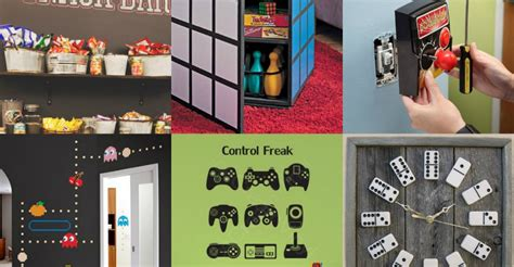 video game bedroom decor our favorite pins of the week game room decor porch advice