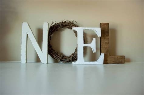 noel letters christmas decor mantle decor christmas gift