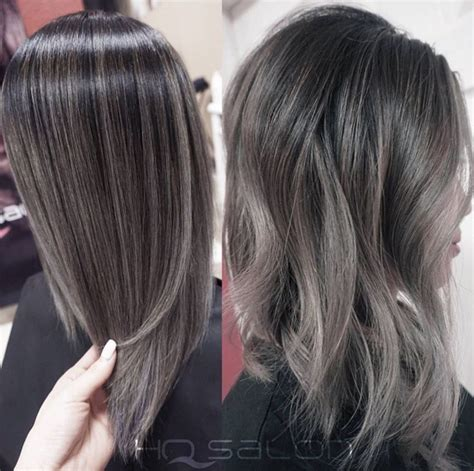 highlights for gray hair photos 1000 ideas about silver highlights on pinterest gray