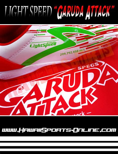 Sepatu Bola Specs Accelerator Lightspeed Garuda Attack toko olahraga hawaii sports sepatu futsal original specs