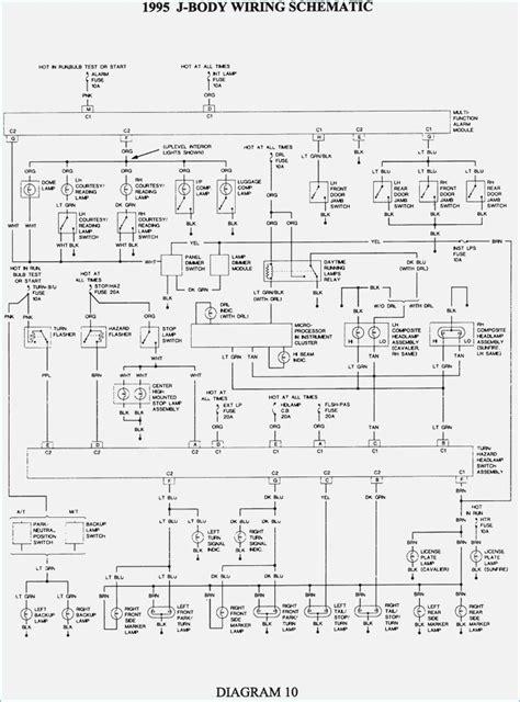 1995 chevrolet cavalier wiring diagrams wiring diagram