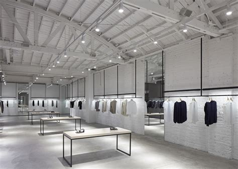 store layout theory interior design nendo s store interiors for theory are