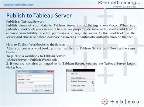 tableau server tutorial for beginners tableau training for beginners learn from real time expert